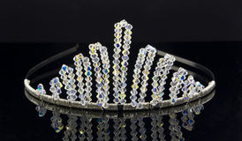 Bridal Tiara. An artistic photograph of a bridal tiara Royalty Free Stock Photos