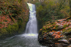 Bridal Veil Falls. Along the Historic Columbia Scenic Highway in  Oregon Royalty Free Stock Photos