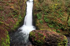 Bridal Veil Falls Royalty Free Stock Photography