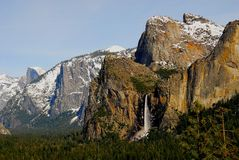 Bridal Veil Falls Royalty Free Stock Photo