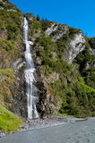 Bridal Veil Falls Alaska Stock Image
