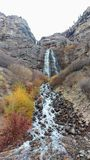 Bridal Veil Falls in Autumn Royalty Free Stock Photo