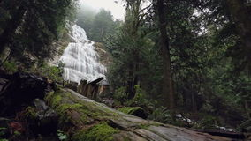 Bridal Veil Falls, British Columbia stock video