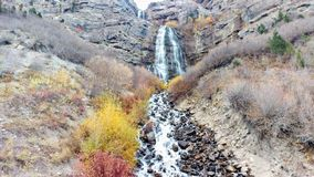 Bridal Veil Falls in Autumn Stock Photos