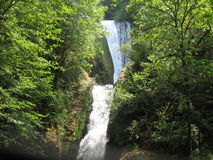 Bridal Veil Falls. In the Columbia River Gorge Stock Photography