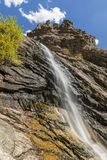 Autumn at Bridal Veil Falls Royalty Free Stock Image