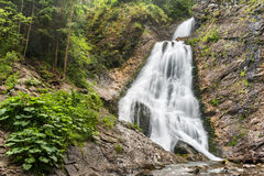 Bridal Veil Falls In Rachitele 2 Stock Photo