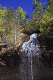 Bridal Veil Falls in NC Royalty Free Stock Photography