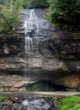 Bridal Veil Falls near Highlands NC Royalty Free Stock Image