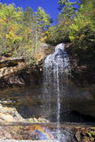 Bridal Veil Falls in North Carolina Stock Images