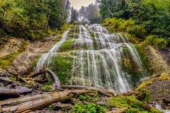 Bridal Veil Falls Provincial Park Stock Photo