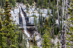 Bridal Veil Falls in the Rockies II Stock Photography