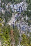 Bridal Veil Falls in the Rockies Royalty Free Stock Photo