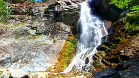 Bridal Veil Falls South Dakota stock video