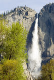 Bridal veil falls in spring. Yosemite National Park, California, United States Stock Photo