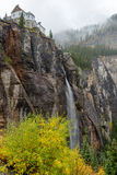 Bridal Veil Falls, Telluride, CO - Vertical Royalty Free Stock Photos