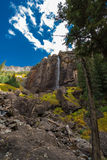 Bridal Veil Falls Telluride Colorado USA Royalty Free Stock Images