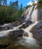 Bridal Veil Falls, Washington State. Bridal Veil Falls on Mt. Index, Washington State Royalty Free Stock Image
