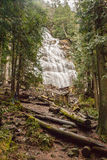 Bridal Veil falls. A water falls in a wilderness setting Royalty Free Stock Photos