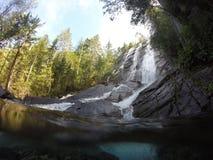 Bridal Veil Falls. The waterfall in Gold Bar, Washington Stock Photography