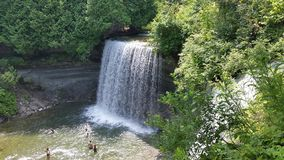 Bridal Veil Falls. royalty free stock images