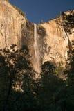 Bridal Veil Falls. Yosemite National Park Stock Photo