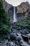 Bridal Veil Falls in Yosemite National Park California Royalty Free Stock Images
