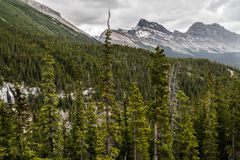 Bridal Veil Fallsn and the Canadian Summit Royalty Free Stock Images