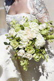 Bridal wedding bouquet of flowers Stock Photos