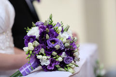 Bridal wedding bouquet Stock Image
