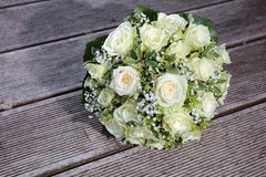 Bridal or Wedding Bouquet Stock Photography