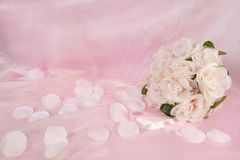 Bridal Wedding Floral Bouquet Stock Images