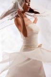 Bridal white Stock Photo
