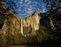 bridalveil加利福尼亚秋天国家公园美国优胜美地 免版税图库摄影