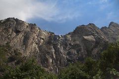 bridalveil加利福尼亚秋天国家公园美国优胜美地 库存图片