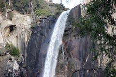 Bridalveil秋天,优胜美地国家公园,加利福尼亚 库存图片