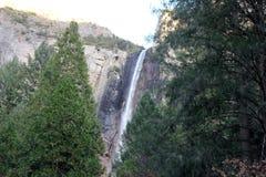 Bridalveil秋天,优胜美地国家公园,加利福尼亚 免版税库存照片