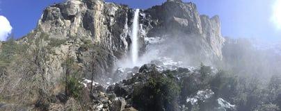 Bridalveil Falls Yosemite National park stock photos