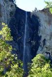 Bridalveil nedgångar - Yosemite Arkivfoton