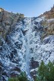 Bridalveilwaterval bij Yosemite-Park Stock Fotografie