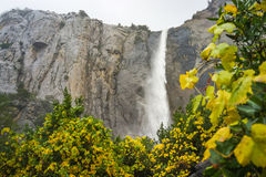 Bridalviel Fall in Fall. At Yosemite National Park Stock Images