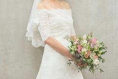 brideË ‡ s ślubny bukiet Obrazy Royalty Free