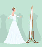 Bride. The figure shows a Bride Royalty Free Stock Photo