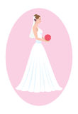 Bride. The figure shows a Bride Stock Photography