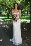 Bride. Beautiful bride on her wedding day Royalty Free Stock Photos