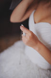 Bride. A bride is getting ready Stock Photography