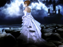 Bride. Fantasy artfor your projects and/or your pleasure Royalty Free Stock Photo