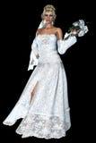 Bride 3. 3d render of Bride 3 Royalty Free Stock Image