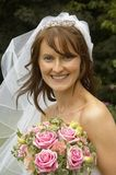 Bride. Portrait of beautiful UK bride, 2005 Royalty Free Stock Images