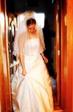 Bride. Leaving Royalty Free Stock Images
